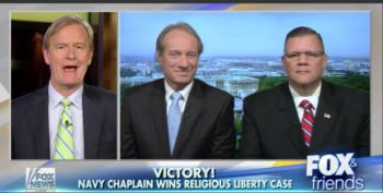 Navy Chaplain Wins His Case To Preach Homophobic Doctrine