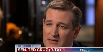 Chuck Todd To Ted Cruz: 'Nobody In Washington Follows You'