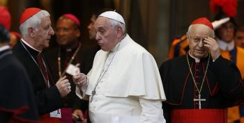 'Now Is A Time For Mercy,' Pope Says At Synod Close