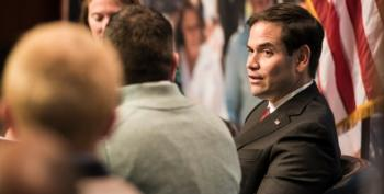 Rubio Late 21 Times On Party Credit Card
