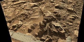 NASA's Curiosity Mars Rover Heads Toward Active Dunes