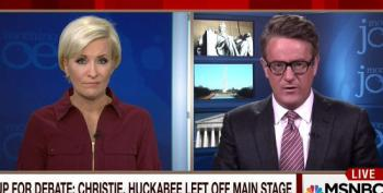 Scarborough Attacks Fox Business For Knocking His Buddy Christie Out Of Main Debate