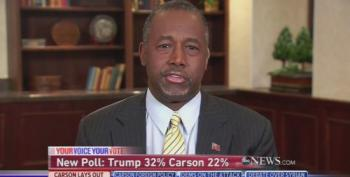 Ben Carson Equates Being Against Waterboarding With 'Political Correctness'