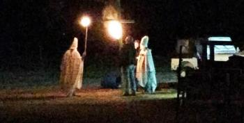 Oklahoma Mayor's Husband Stages KKK 'Prank' For Halloween