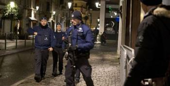 Belgian Police Arrest 16 In Raids Across Country