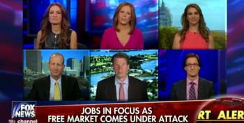 Fox News Confuses Good Jobs Report With 'Destroying The Free Market'