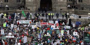 'There's No Planet B' – Climate Change Campaigners Rally Around The World
