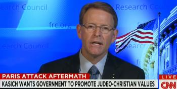 What Is It Going To Take To Get The Media To Quit Propping Up Hate Group Leader Tony Perkins?