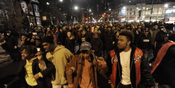 More Than 1000 Protest Laquan McDonald Killing With March In Downtown Chicago