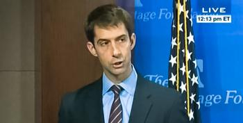Tom Cotton: People 'Spiral Downward' Into Heroin Addiction Because Of Social Security Benefits
