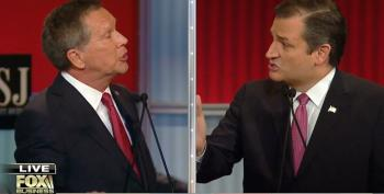Cruz And Kasich Spar Over Wall Street Regulations And Bank Bailouts