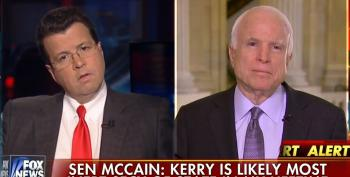 The Man Who Thought Sarah Palin Would Make A Great VP Attacks Kerry As Inept