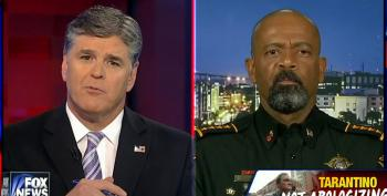 Hannity And Fox's Wingnut Sheriff Clarke Attack Quentin Tarantino As Out Of Touch 'Limousine Liberal'