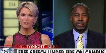 Megyn Kelly And Ben Carson Fear Monger About 'Angry Black Students' On College Campuses Moving US Toward 'Anarchy'