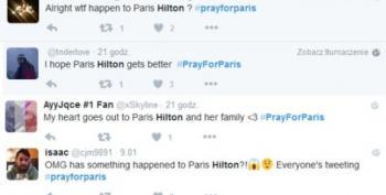 Open Thread - Oh, THAT Paris.