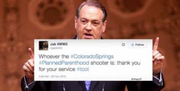 Weird: Huckabee Says Conservatives Would Never Condone The Planned Parenthood Attack