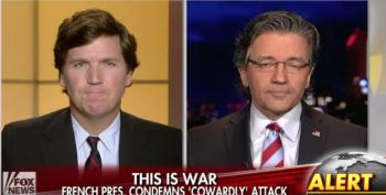 Tucker Carlson And Guest Blame Obama Administration For Paris Attacks