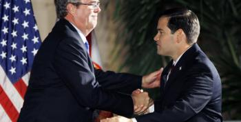 Bush Campaign Plans To Hit Marco Rubio Hard