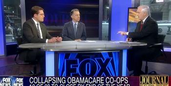Fox WSJ Pundits Pooh-Pooh Claim That Obamacare Co-Ops Were Sabotaged By GOP