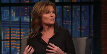 Seth Meyers Calls Out Palin For Repeating Lies About Syrian Refugees
