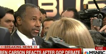 Ben Carson Spews Word Salad On Too Big To Fail