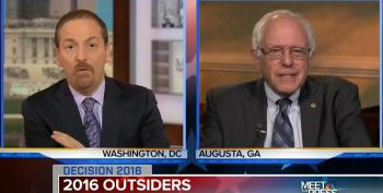 Bernie Sanders : Focus On Carson's Extreme Policy Positions Rather Than What He Did As A Child