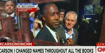 Ben Carson Lashes Out At CNN For Investigating Stories About His Childhood
