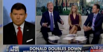 Fox's Doocy Defends Trump, Claims He Remembers Muslims Celebrating On 9/11, Too