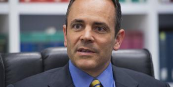 AP Calls KY Governor Race For Right-Wing Extemist Matt Bevin