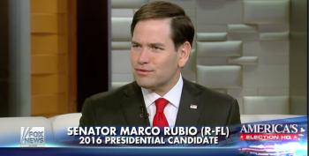 Marco Rubio Pretends He Wants To Alleviate Student Loan Debt