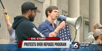 'III Percenters' Ride Wave Of Islamophobia In Idaho To Lead Anti-Refugee Protests
