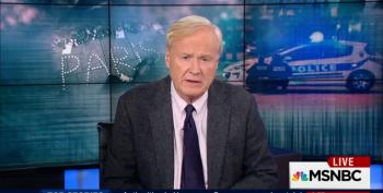 Chris Matthews Taunts Refugee Families For Not 'Fighting For Syria'