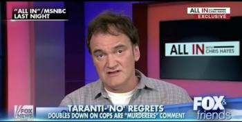 Fox 'News' Angered By Tarantino's 'White Supremacy' Claims