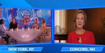 Carly Fiorina Gets KO'd  By Whoopi And Joy On 'The View'