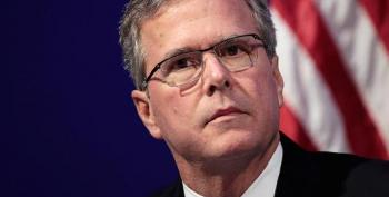 Jeb Bush Claims 'Trump Is A Creature Of Obama'