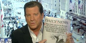 Fox 'News' Pundits Blame Media And Obama For Trump's Rhetoric