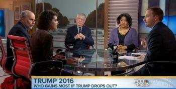 MTP Panel Pretends Trump Voters Consider Themselves Liberal/Moderate