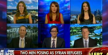 Fox Pundits Fearmonger Over Syrian Refugees, Pretend They're Not Vetted