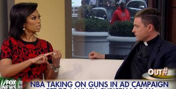 Fox 'News' Blabbers Outraged Over 'Liberal' NBA Gun-Control Ad