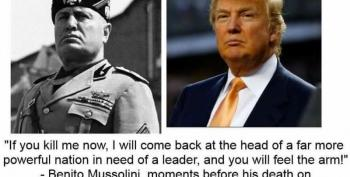 Ted Koppel Points Out Striking Similarities Between Trump And Mussolini