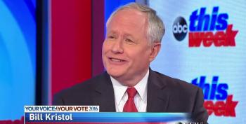 Bloody Bill Kristol Sticking With Trump Predictions So He Doesn't Look 'Pathetic'