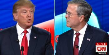 CNN Debate Goes Off The Rails With Bush And Trump On Foreign Policy