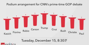 CNN Debate Stage Set For Last Debate Of 2015