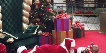 Open Thread - Santa Meets Autism