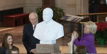 Dick Cheney Bust Unveiled At The Capitol