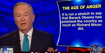 O'Reilly: 'Obama Has Polarized The Country As Much As Richard Nixon Did'
