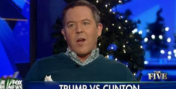 Greg Gutfeld Is 'Sick And Tired' Of Fox Defending Trump – Because Hillary Clinton