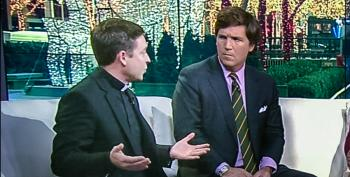 Fox Priest Shames Tucker Carlson For Opposing 'Common Sense' Assault Weapons Ban