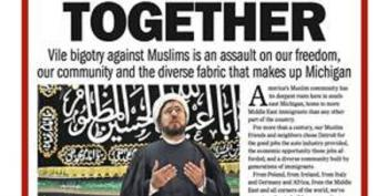 Detroit Free Press: 'We Stand Together' Against Bigotry