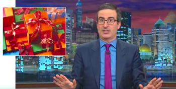 John Oliver Gives His Viewers Some Tips On Regifting This Christmas